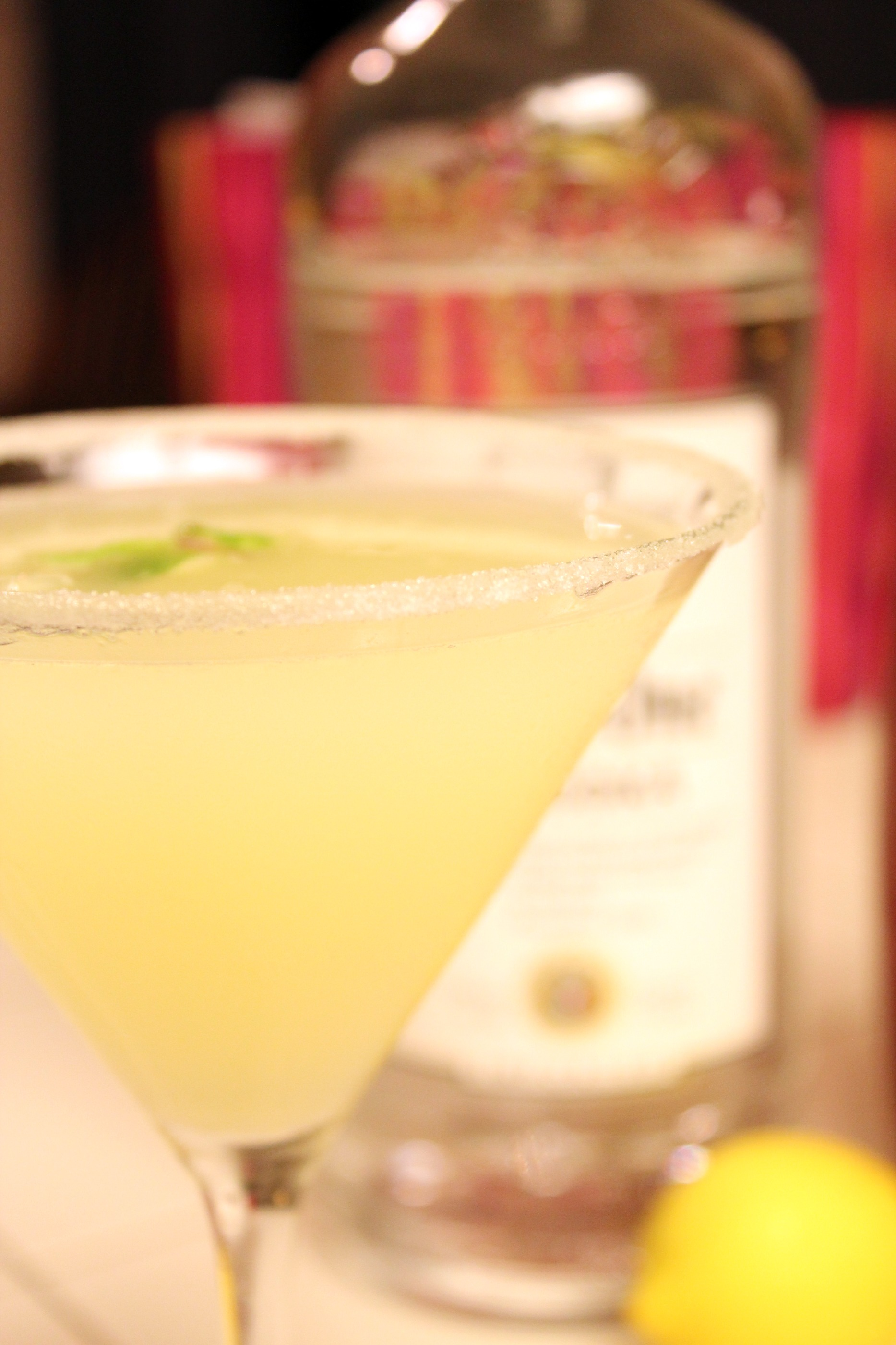 Oprah's Lemon Drop Martini | There Goes the Cupcake...