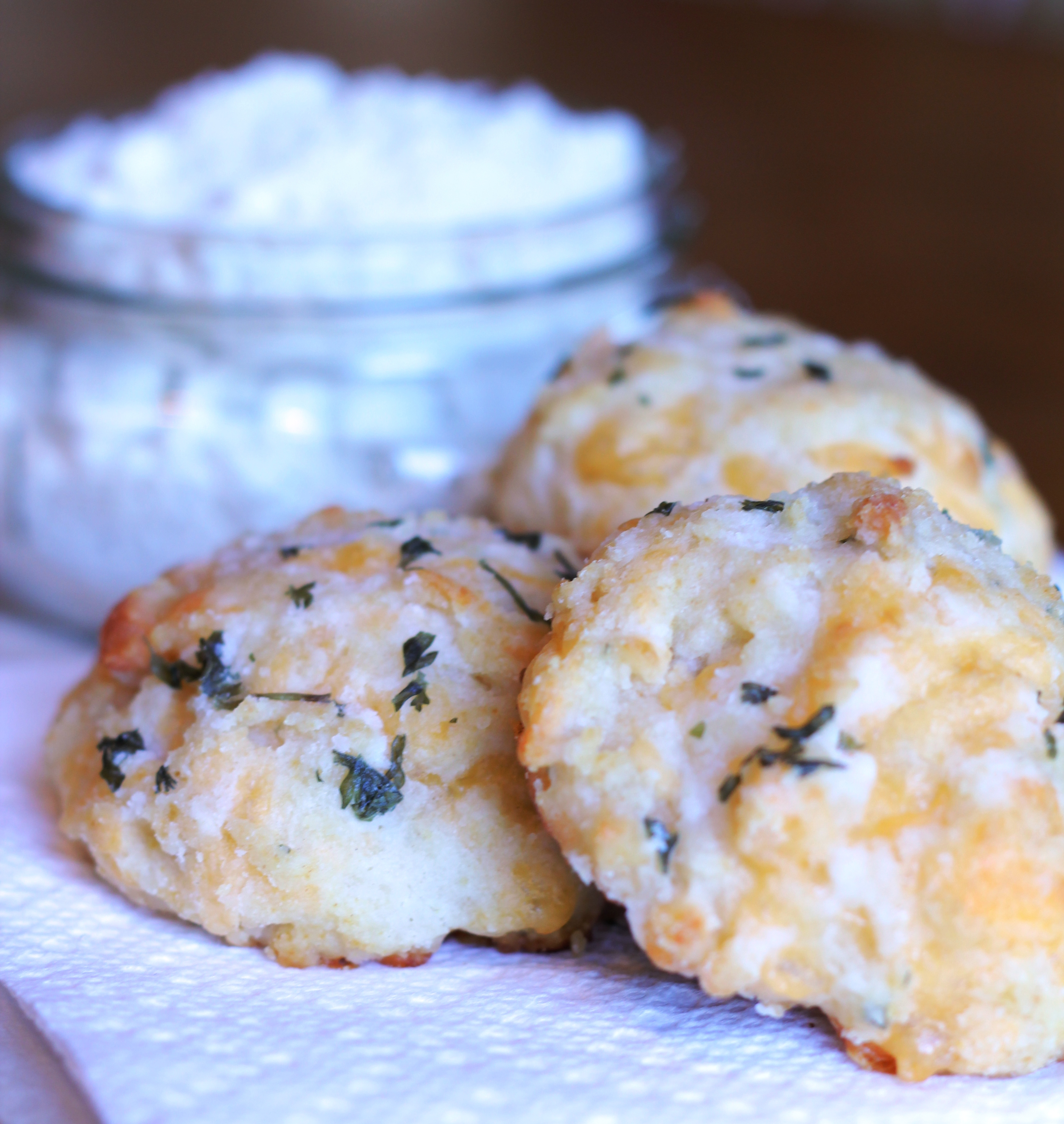 Cheddar Bay Biscuits with Home Made Bisquick | There Goes ...