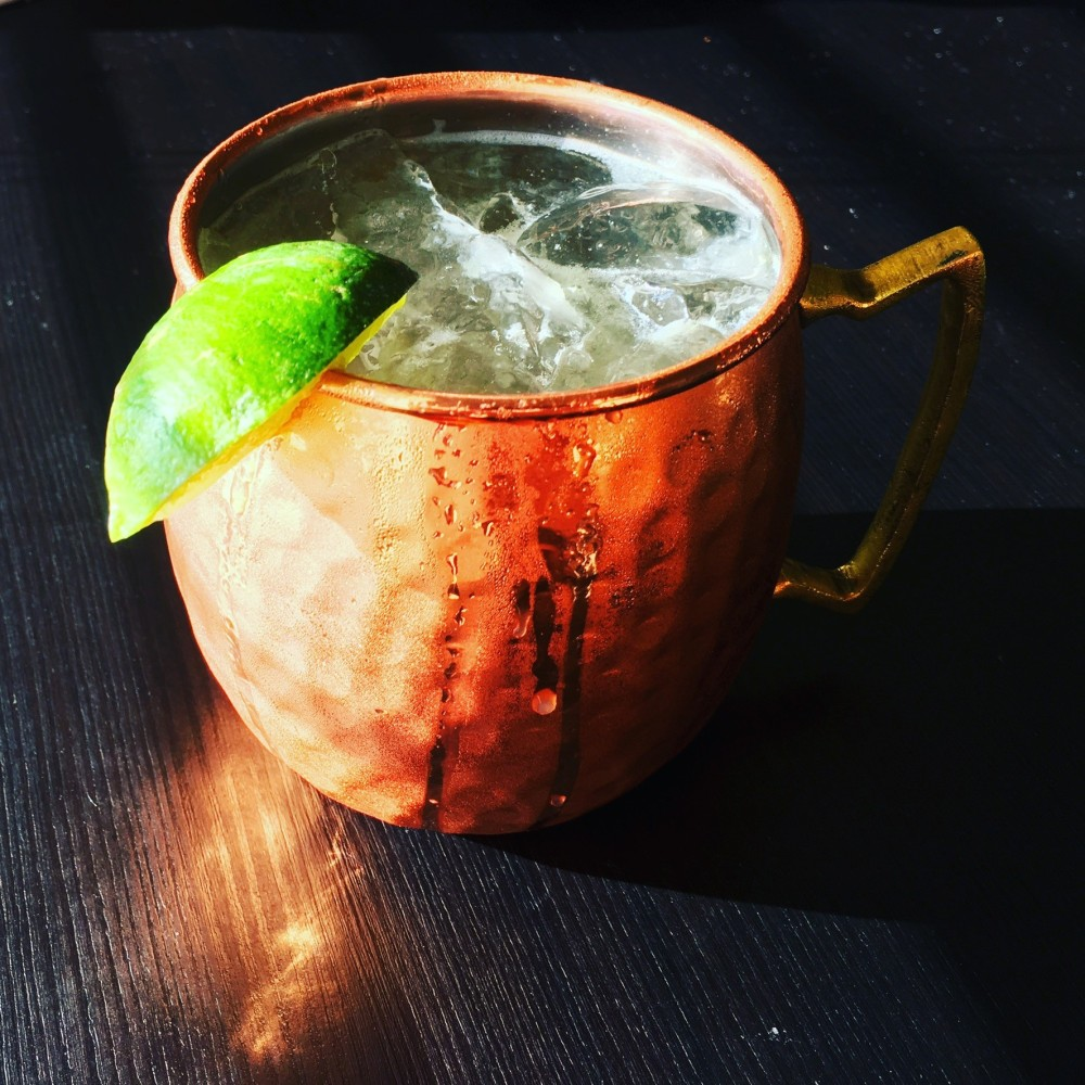 Gin Mule with Elderflower